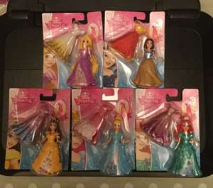 Disney princess Magiclip dolls scanning at just £1 at Tesco instore.