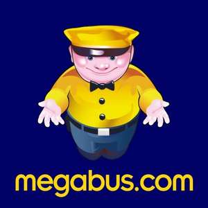 50,000 Megabus free seat give away (50p booking fee)