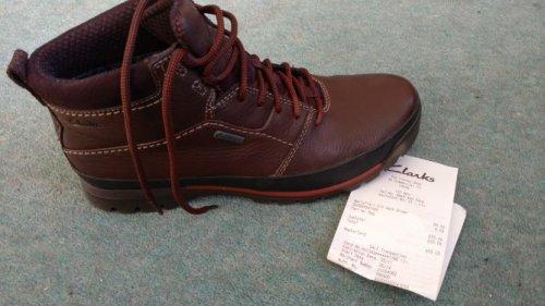narlytrail gtx dark brown £55 @ Clarks