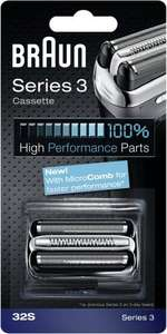 Braun Series 3 32S Shaver Replacement Foil Cartridge £14.89 (Prime) £18.88 (Non Prime) @ Amazon