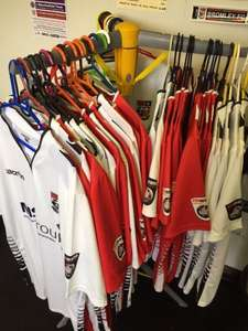 Buy a Bromley FC Home or Away Shirt for £20 and get Football Manager 2016 Free