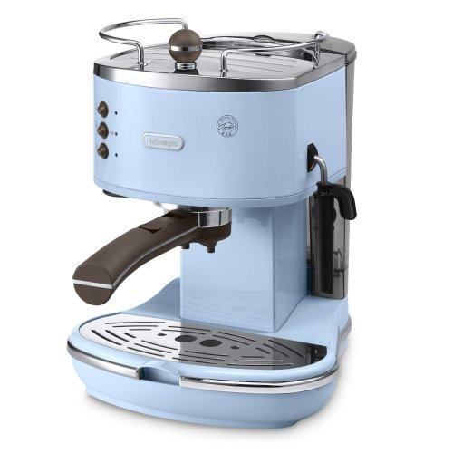 Delonghi Vintage Icona ECOV310.AZ Pump Espresso and Cappuccino Machine, 1.4 Litre, 1100 Watts (blue) £91.99 @ Amazon