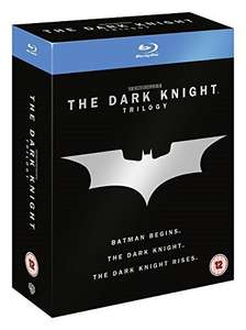 Batman At Less Than Half Price  - The Dark Knight Trilogy [Blu Ray]  -  Just  £7 (or £6.30 with 10% off  leaflet)  INSTORE  @ Head Entertainment