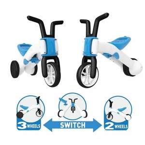 Chillafish Bunzi 2-in-1 Tricycle & Balance Bike in Blue was £33.75 now £18 @ Tesco Direct (+£2 C+C)