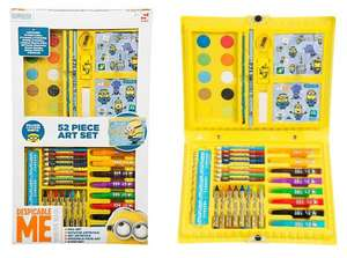 Despicable Me Minions 52 Piece Art Set £2.50 at Tesco (InStore)