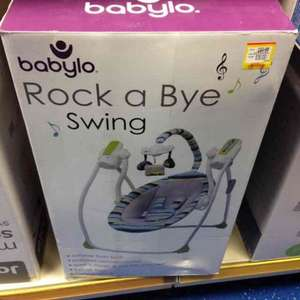 babylo rock a bye swing £30 @ smyths toy shop Walsall