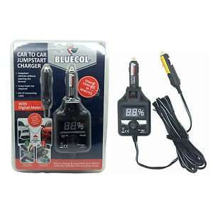 Bluecol Car to Car Jump Starter/Charger  £3.76 at Asda instore