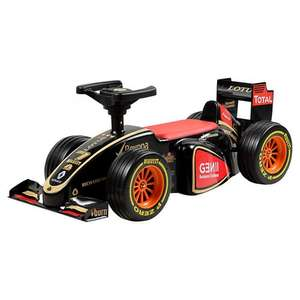 Lotus F1 Team Ride-On Racing Car now £53.50 del @ John Lewis