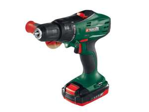 Lidl - Parkside 18V Li-Ion Cordless Hammer Drill - £39.99 3 year manufacturer's warranty