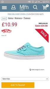 ladies vans online at m&m direct £15.48 delivered
