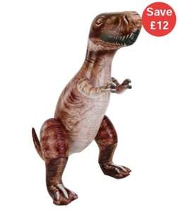 Giant 6ft Inflatable T-Rex half price £12.50 del to store @ ELC
