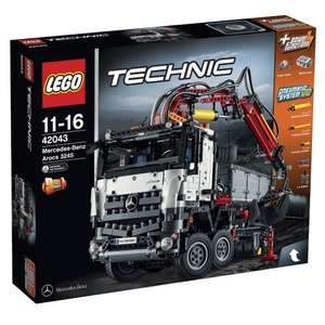 LEGO Technic Mercedes-Benz Arocs  42043 using code TOYS15 - £131.71 @ Rakuten (Sold by Jadlam Racing Models)
