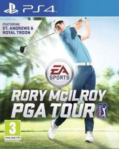 Rory McilRoy PGA Tour PS4 £18 @ Tesco Direct