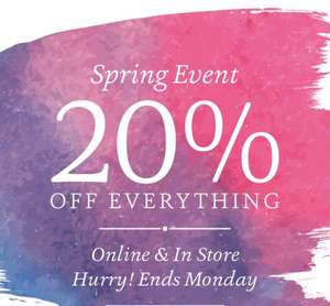 20% off Everything @ Fat Face