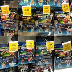 Lego Dimensions Fun Packs £5 and 3 for 2 Tesco In store