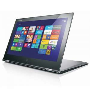 Lenovo Yoga 2 Pro 13.3, 3200x1800, i7 (2GHz), 256GB SSD, 8GB DDR, 7+Hrs, 2yr Warranty - £549.99 for Members (£577.50 for Non-Members) @ Costco.co.uk