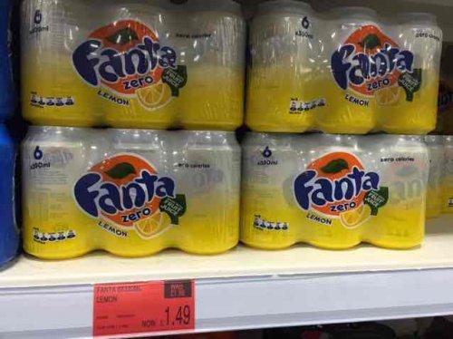 Fanta Lemon Zero 6 Pack £1.49 @ B&M Stores