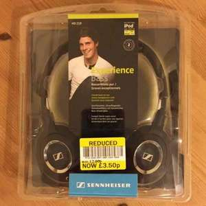 Sennheiser HD219 headphones £3.50 in Tesco