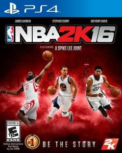 NBA 2K16 (PS4/Xbox One) £32.00 @ Amazon