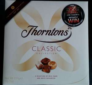 Thorntons Classic Collection 511g @ Morrisions - £3