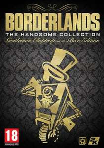 BORDERLANDS THE HANDSOME COLLECTION GENTLEMAN CLAPTRAP-IN-A-BOX EDITION £202.49 @ 2k games