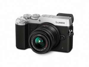 Panasonic Lumix DMC-GX8KEB-S Silver (20 MP, 14 - 42 mm Lens) £649 -  £549 With poss Cashback @ Amazon