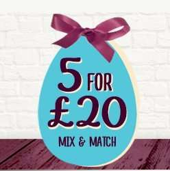 5 Large Personalised Easter Eggs for £20 at Thorntons
