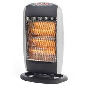 Halogen Heater 1200W (RRP £34.99) NOW £10.00 @ B&M