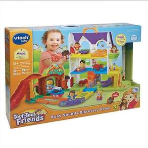 Vtech baby - Toot Toot Friends Discovery Home £11 instore @ Tesco