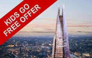 Kids Go Free This MAY Half Term @ The Shard with Discount London (2 Kids per 1 Adult)
