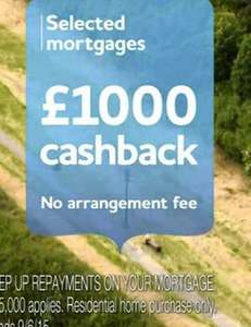 £1000 Cashback with Yorkshire Bank for First Time Buyers