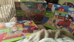 Lego Duplo /first bricks playsets (fire response, police station and train platform) £3 @ storetwentyone