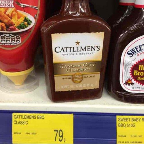 Cattlemen's BBQ Sauce (510g) ONLY 79p @ B&M
