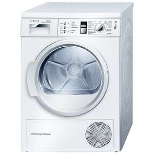 Bosch WTW863S1GB Exxcel 7kg Freestanding Condenser Tumble Dryer £474 + delivery @ bhsdirect