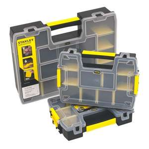 Stanley Sort Master Organiser Set 3 Pieces £14.99 at Screwfix
