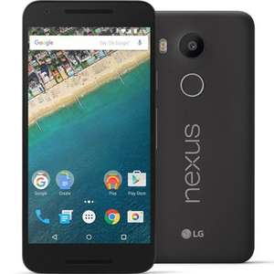LG Nexus 5X 16GB, Carbon, SIM Free/Unlocked Now Available for £278.99 + £2.90 del with HandTec