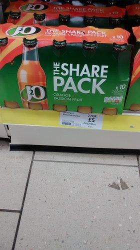 J20 20 Bottles for only £5 at Heron Foods