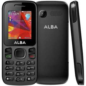 Argos Alba Dual sim basic phone unlocked 3 day battery life 2 year warranty £12.95 @ argos