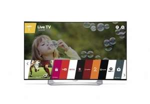LG OLED 55EG910V  55 inch Curved Full HD OLED 3D Smart TV with Freeview HD £1239 @ AE