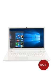 £599 Toshiba L50-C-22Q Intel Core I7 Processor, 12Gb RAM, 1Tb HDD Storage, 15.6 Inch Laptop With 2GB NVIDIA GeForce 930M Dedicated Graphics With Optional Microsoft Office 365 White @ Very