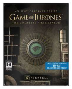 Game of Thrones Season 1 & 2 Limited Edition Steelbook with Collectible Magnet [Blu-ray] £16.99 each Prime or £18.98 non prime @ amazon