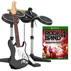 Rock Band 4 Band-In-A-Box Ps4/Xbox One Software Bundle £139.99 @ Amazon