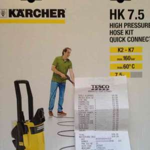 Karcher HK 7.5 High Pressure Hose Kit £8.50 @ Tesco