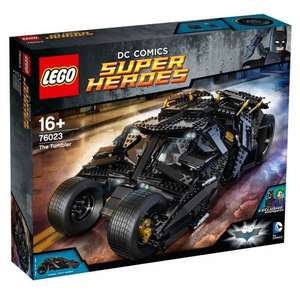 LEGO 76023 DC Comics Super Heroes Batman The Tumbler £169.99 @ Smyths Toys