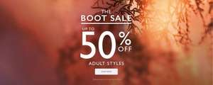 Clarks Upto 50% off Boots Sale - Free delivery & Returns (links in 1st comment)