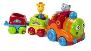 ELC Toy Box Musical Animal Train £10 (prime) £14.75 (non prime) Amazon