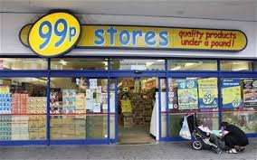 99p store Balham closing down.  Up to 50% off.
