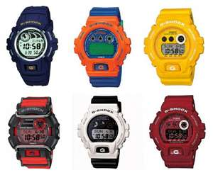 Casio G-Shock Watch Sale Up to 50% from Chapelle Jewellery. Price start from £42