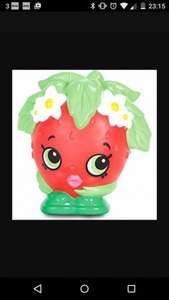 Shopkins Colour Changing Illumi-mate night light Apple blossom Strawberry Kiss £2 @ Morrison's in store