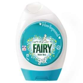 Fairy non-bio washing gel £1.50 (16washes) With coupon @ Asda